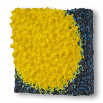 Schilderij Gele Zon, door Ragnar Madlener